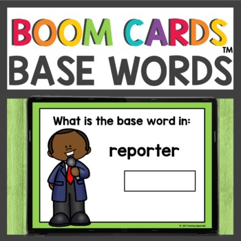 Boom Cards Base or Root Words