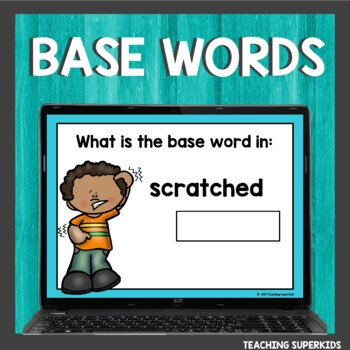 Base or Root Words Boom Cards