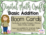 Distance Learning Boom Cards Basic Addition With a Math Cr
