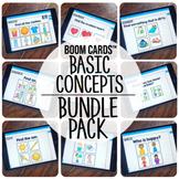 Boom Cards™️ Basic Concepts {BUNDLE PACK}