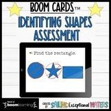 Shape Identification Boom Cards™ Assessment
