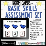 Math and Reading Boom Card™ Assessment Bundle