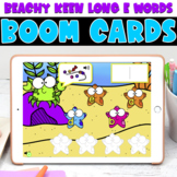 Boom Cards | Beachy Keen Long E Vowel Teams | May First Grade