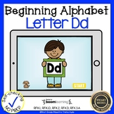 Boom Cards Beginning Alphabet Letter D