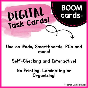 Boom Cards™ Beginning Digraphs   Digital Task Cards  