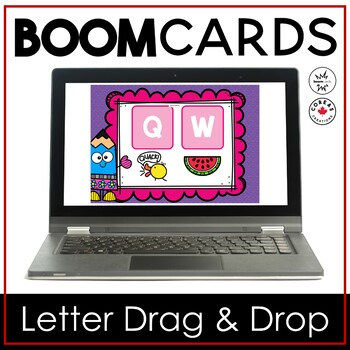 Boom Cards | Beginning Letter Drag and Drop