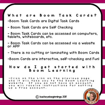 Boom Cards Beginning Sound Match Set 3 Task Cards
