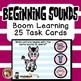 Boom Cards Beginning Sound Match Set Letters A-Z Task Cards