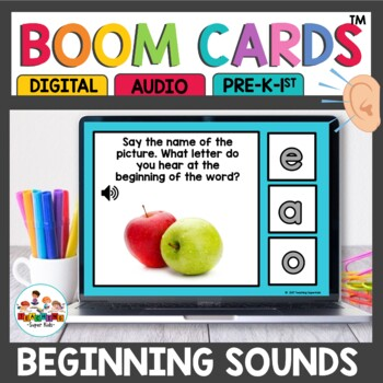 Boom Cards Beginning Sound Recognition
