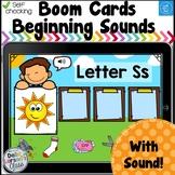 Boom Cards Beginning Sound Sort