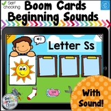 Boom Cards Beginning Sound Sort Distance Learning
