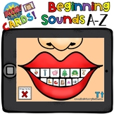 Boom Cards - Beginning Sounds A to Z - Distant Learning