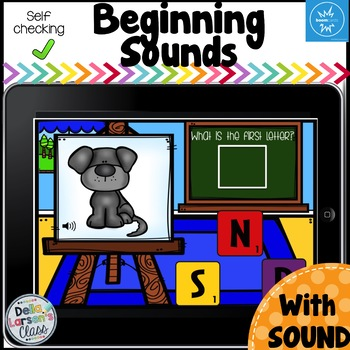 Boom Cards Beginning Sounds-Classroom