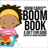 Boom Cards™️ Boom Book: A Gift for Gabe