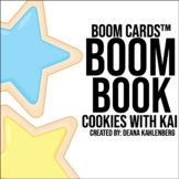 Boom Cards™️ Boom Book: Cookies with Kai