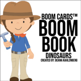 Boom Cards™️ Boom Book: Dinosaurs