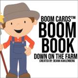 Boom Cards™️ Boom Book: Down on the Farm