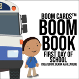Boom Cards™️ Boom Book: First Day of School