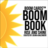 Boom Cards™️ Boom Book: Rise and Shine