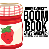 Boom Cards™️ Boom Book: Sam's Sandwich