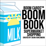 Boom Cards™️ Boom Book: Supermarket Shopping