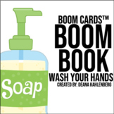 Boom Cards™️ Boom Book: Wash Your Hands