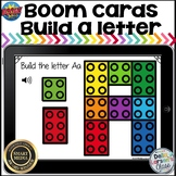 Boom Cards Build A Letter with Blocks