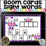 Boom Cards Build a Sight Word - Brain Power Distance Learning