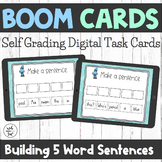 Boom Cards - Building 5 Word Sentences