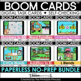 Boom Cards™ Bundle 2 Kindergarten Distance Learning | Digi