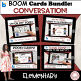 #distancelearning Boom Cards Social Skills Bundle for Elementary