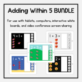 Boom Cards Bundle: Adding Within 5
