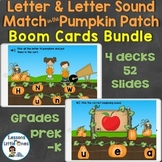 Boom Cards Bundle Alphabet Letters & Letter Sounds Match i