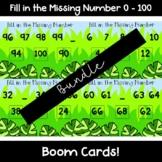 Boom Cards {Bundle} - Find the Missing number 0-100