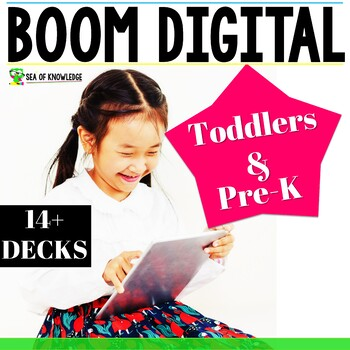 Boom Cards Bundle Phonics, Reading, Counting, Life Skills, Math and More!
