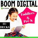 Digital Activities Boom Card Bundle Preschool Toddlers #Di