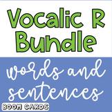 Boom Cards Bundle Vocalic R Sentences | Vocalic R Words | Speech Therapy