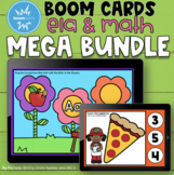 Boom Cards Distance Learning Bundle for ELA and Math / Dig