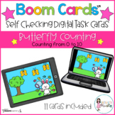 Boom Cards™  Butterfly Counting (0-10)