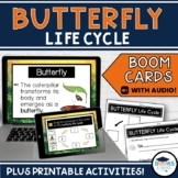 Butterfly Life Cycle BOOM CARDS - Digital Task Cards