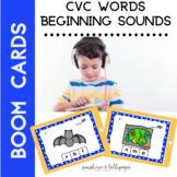 Boom Cards CVC Beginning Sounds