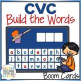 CVC Boom Cards Build the Words