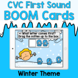 Boom Cards - CVC First Sounds - Winter Theme