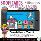 Boom Cards™ CVC Ice cream words - medial short i vowel - d