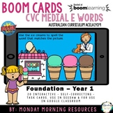 Boom Cards™ CVC Ice cream words- medial short vowel e - di