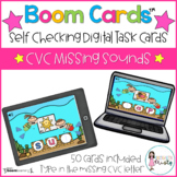 Boom Cards™  CVC Missing Letters