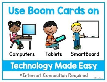 CVC Boom Cards Short I Digital Task Cards