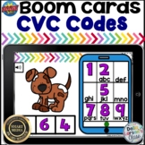 Boom Cards CVC Words - Text the Code