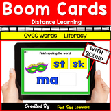 CVCC Digital Task Cards for Boom Learning | Distance Learn