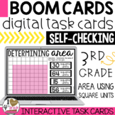 Boom Cards Calculating Area